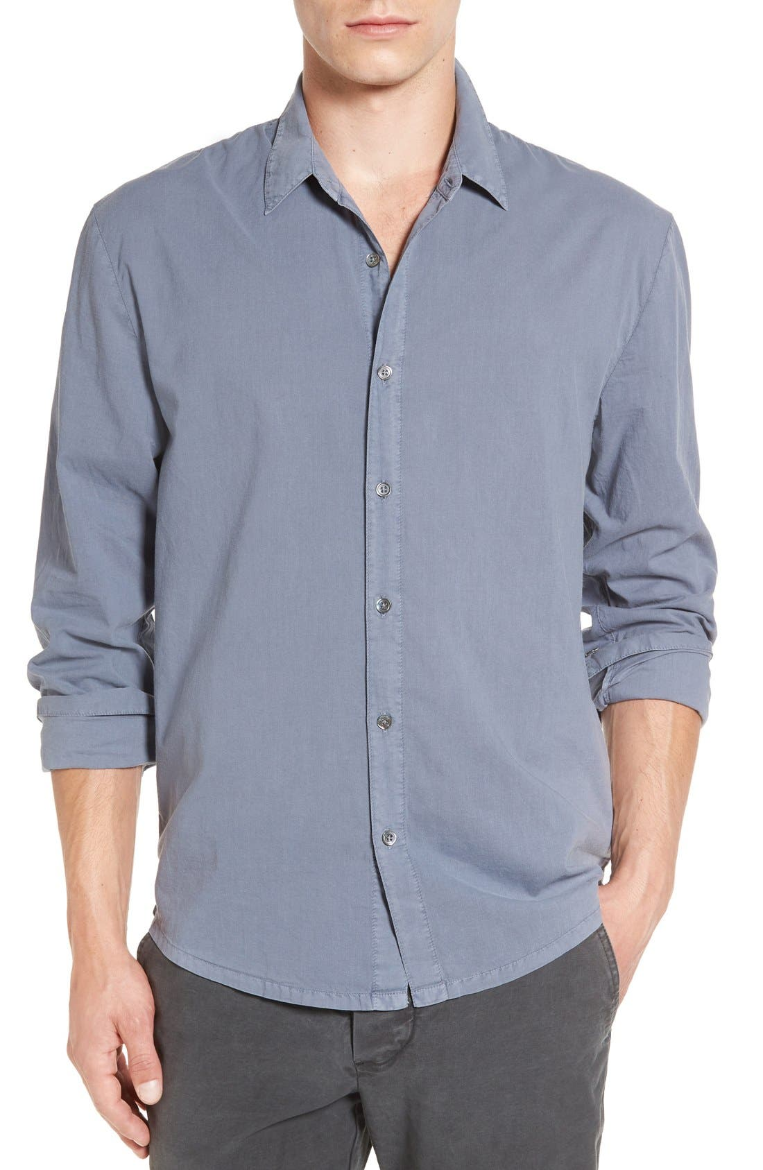 Alternate Image 1 Selected - James Perse 'Classics' Cotton Lawn Shirt