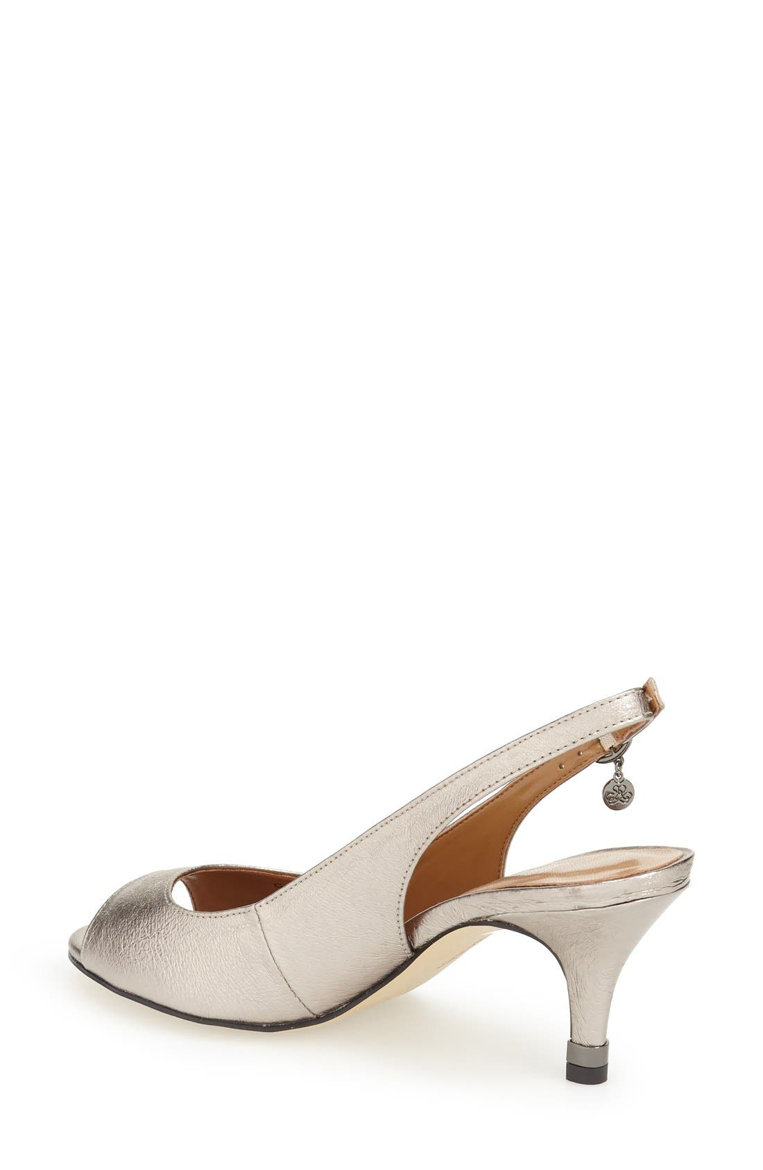 Alternate Image 2  - J. Reneé 'Gardenroad' Slingback Peep Toe Pump (Women)