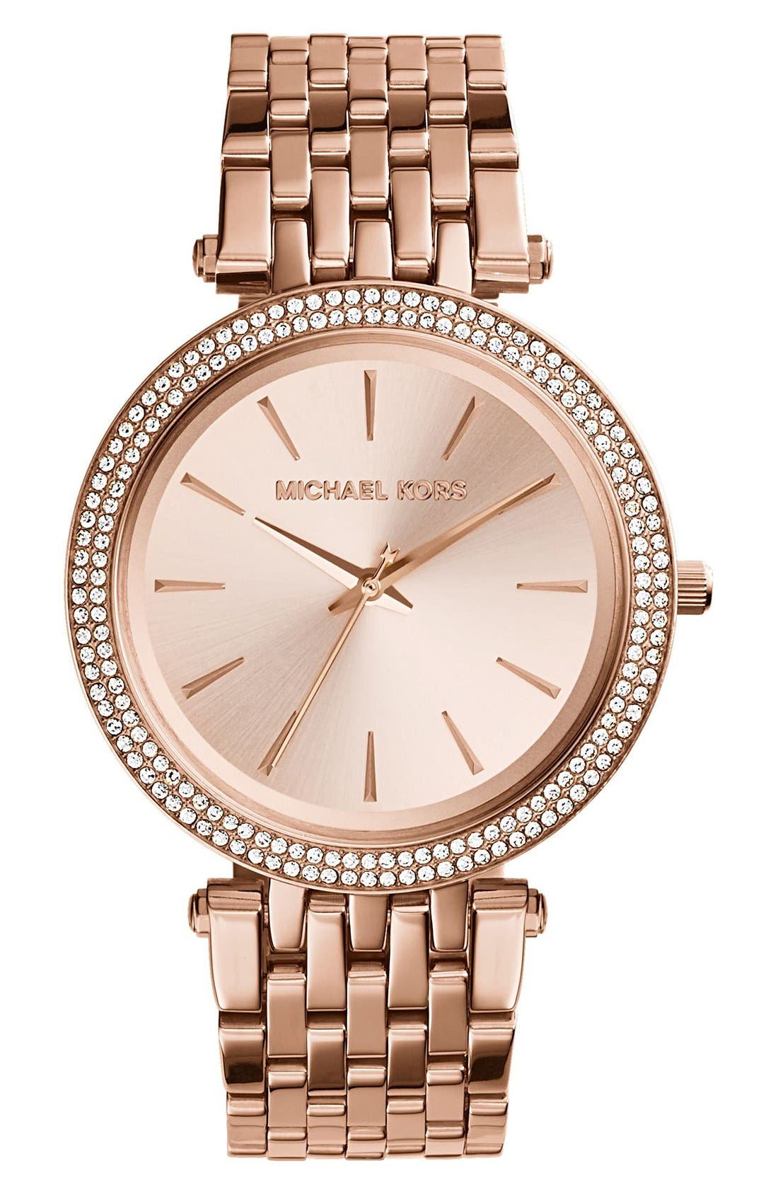 MICHAEL KORS Darci Round Bracelet Watch, 39mm