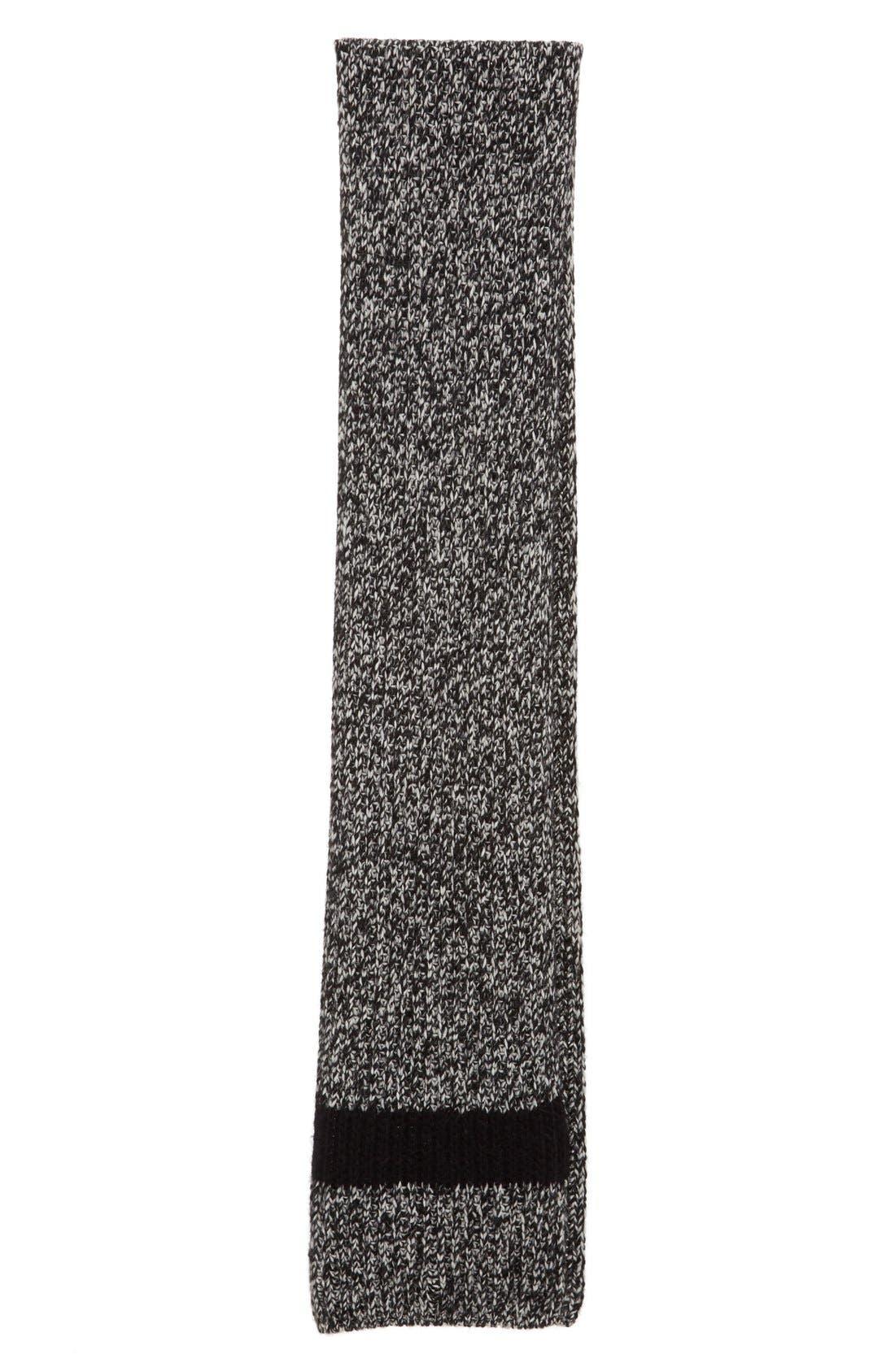 Moncler Wide Mélange Knit Scarf