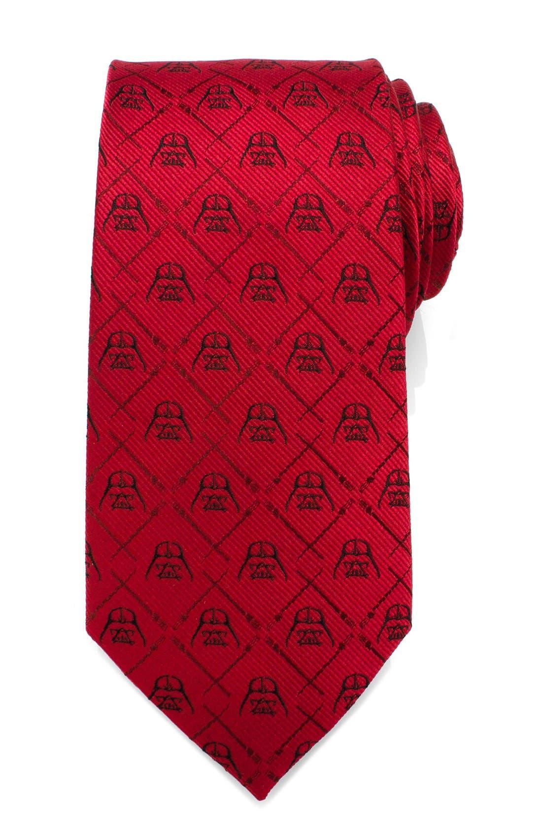 Main Image - Cufflinks, Inc. 'Darth Vader' Silk Tie
