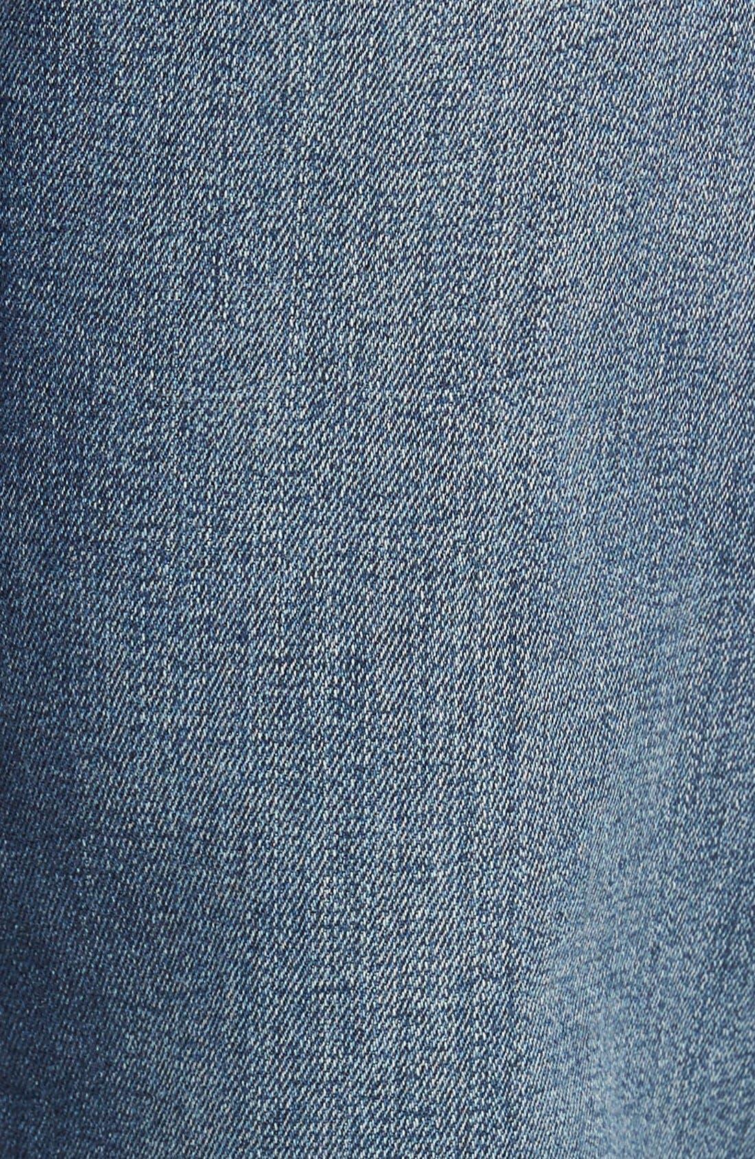 Alternate Image 5  - Mavi Jeans 'Zach' Straight Leg Jeans (Mid Blue)