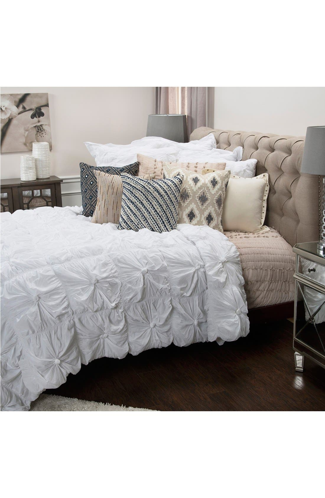 Alternate Image 4  - Rizzy Home Knots Comforter & Sham Set