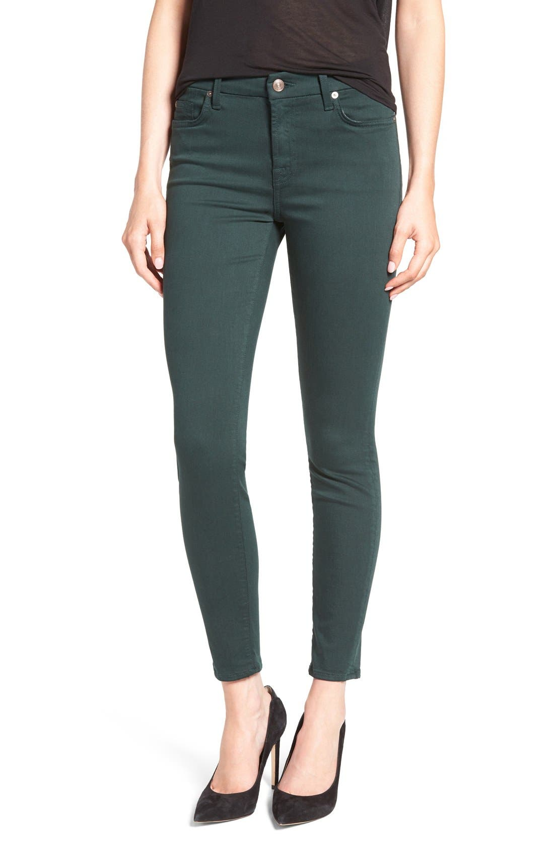 Alternate Image 1 Selected - 7 For All Mankind® 'The Skinny' Skinny Jeans