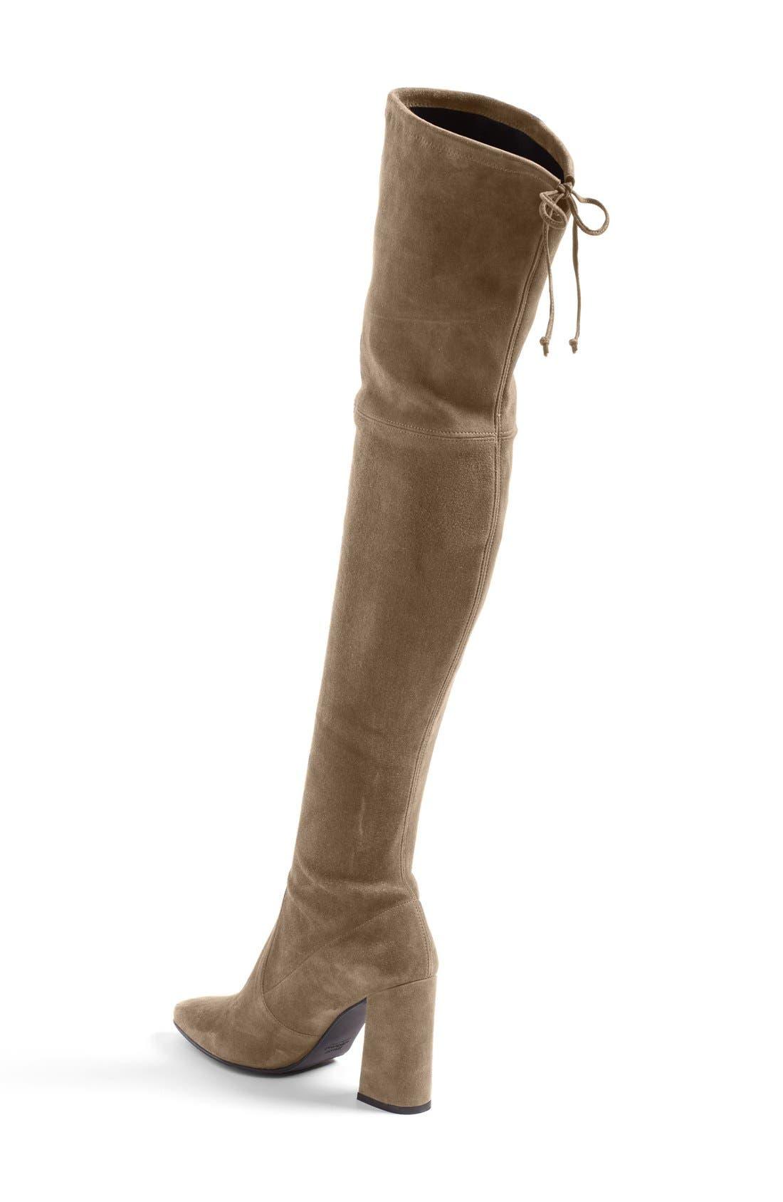 Alternate Image 2  - Stuart Weitzman Highstreet Over The Knee Boot (Women)