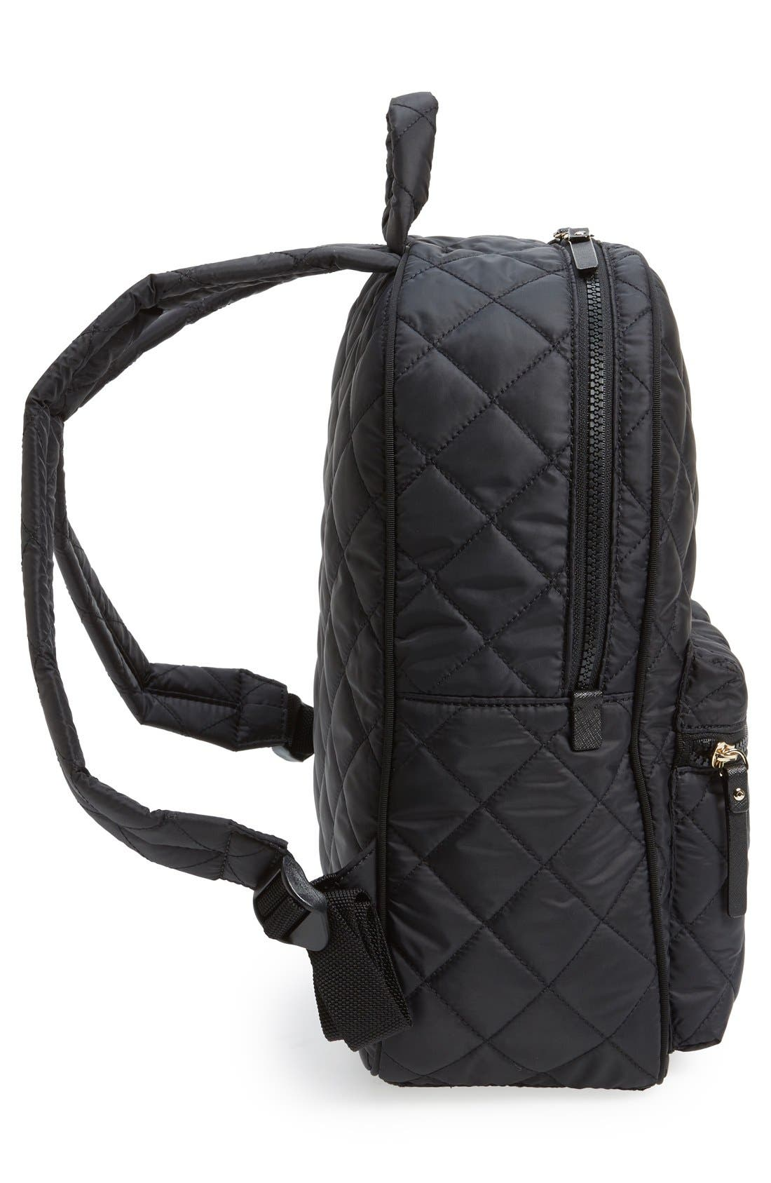 Alternate Image 4  - kate spade new york 'ridge street siggy' quilted backpack