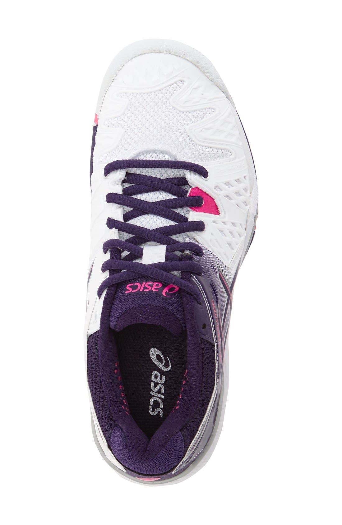 Alternate Image 3  - ASICS® 'GEL-Resolution 5' Tennis Shoe (Women)