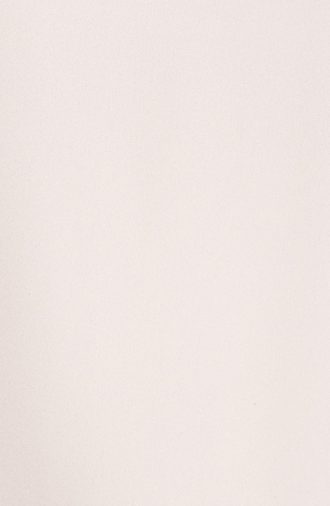 Alternate Image 5  - Vince Camuto Pleated Chiffon Sleeve Blouse (Regular & Petite)