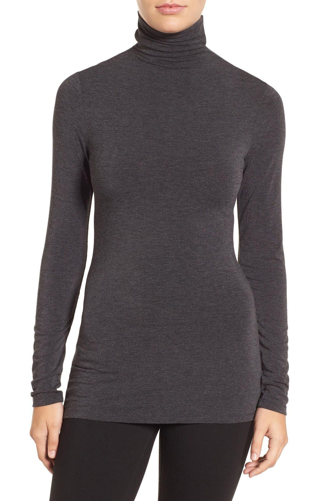 HALOGEN<SUP>®</SUP> Long Sleeve Turtleneck