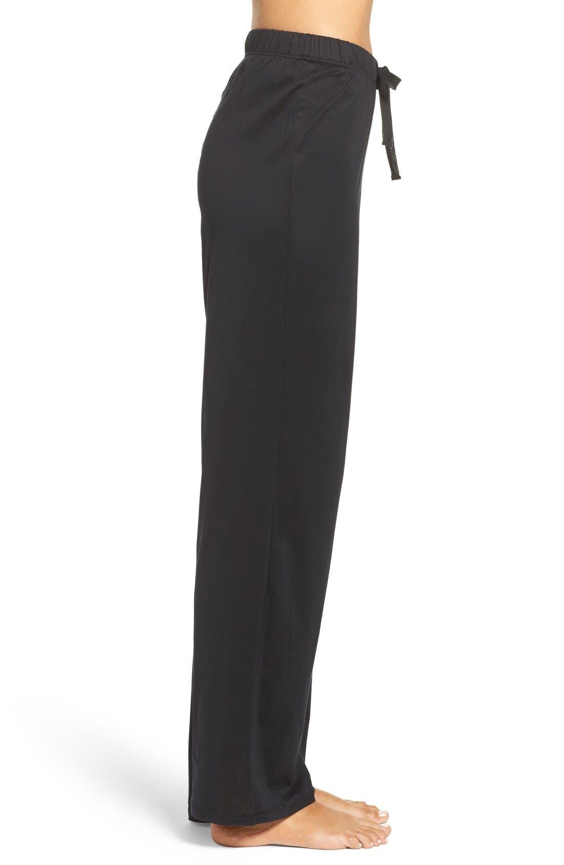 Alternate Image 3  - Hanro Cotton Lounge Pants