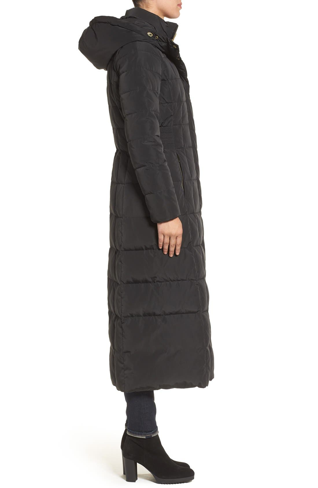 Alternate Image 3  - Cole Haan Quilted Coat with Inner Bib