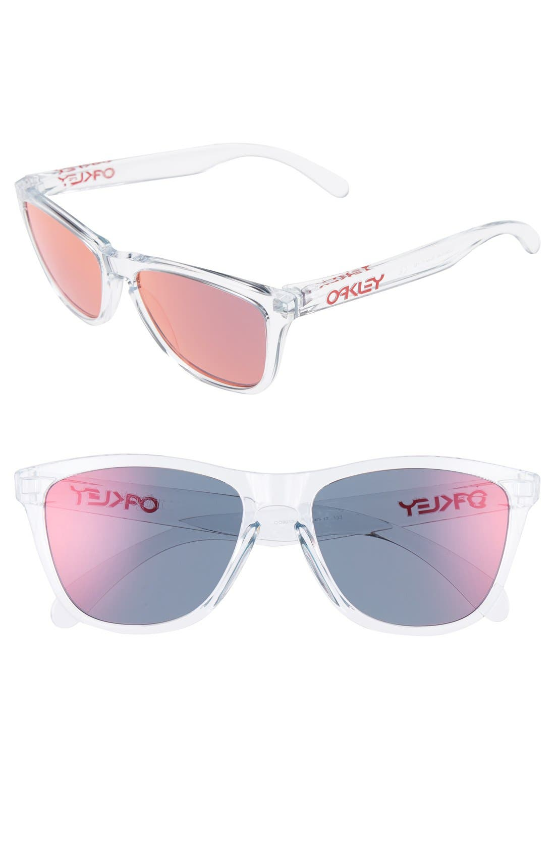 Frogskins<sup>®</sup> 55mm Sunglasses,                             Main thumbnail 1, color,                             Red