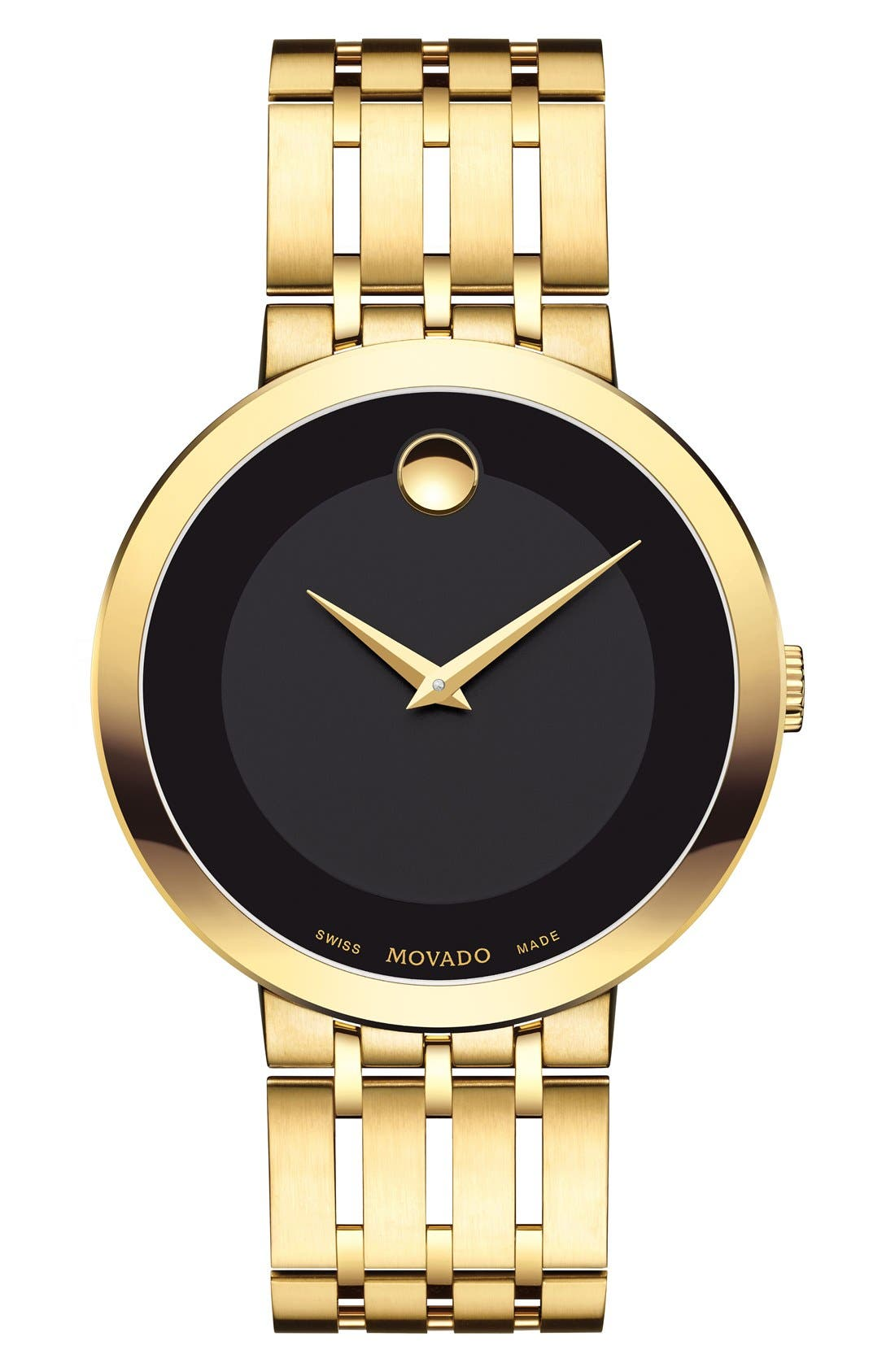 'Esperanza' Bracelet Watch, 39mm,                         Main,                         color, Gold/ Black