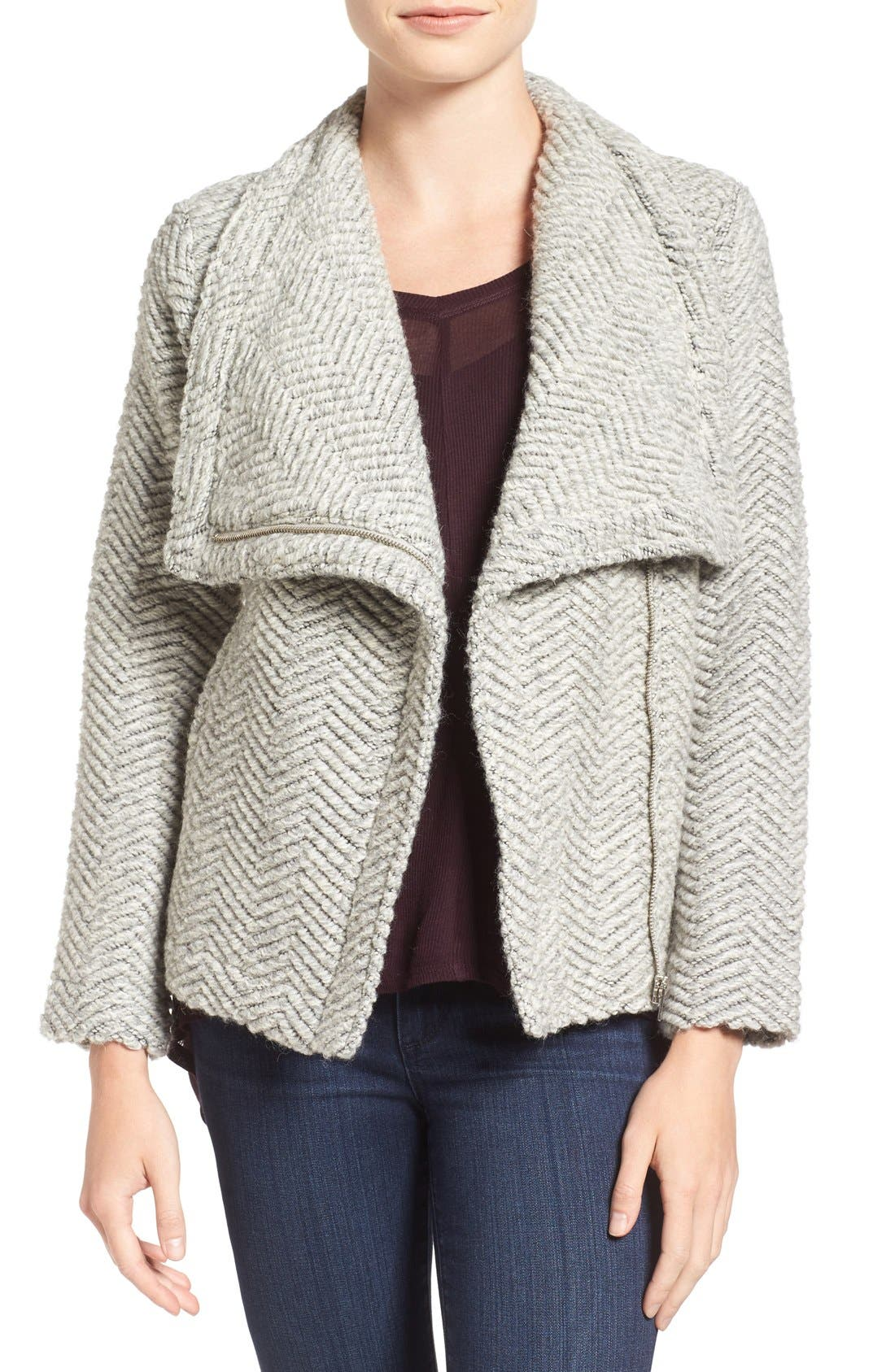 Main Image - cupcakes and cashmere 'Sanford' Wool Blend Jacket