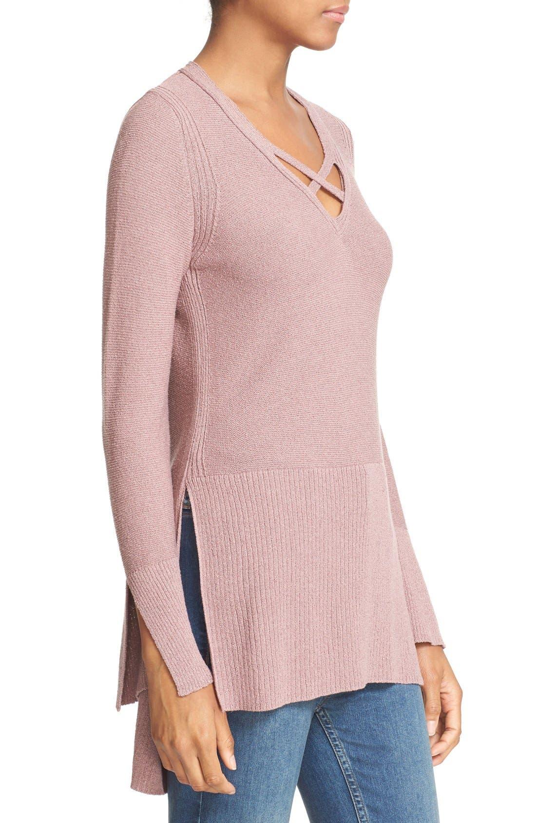 Alternate Image 3  - Free People Crisscross Sweater
