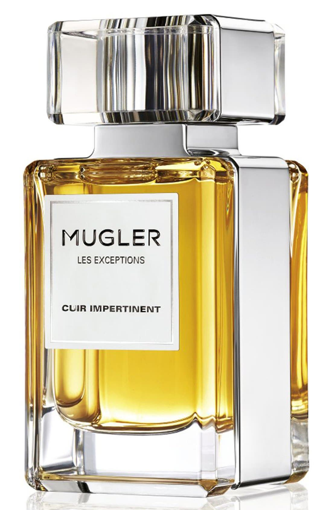 Mugler 'Les Exceptions - Cuir Impertinent' Eau de Parfum Refillable Spray (Nordstrom Exclusive)