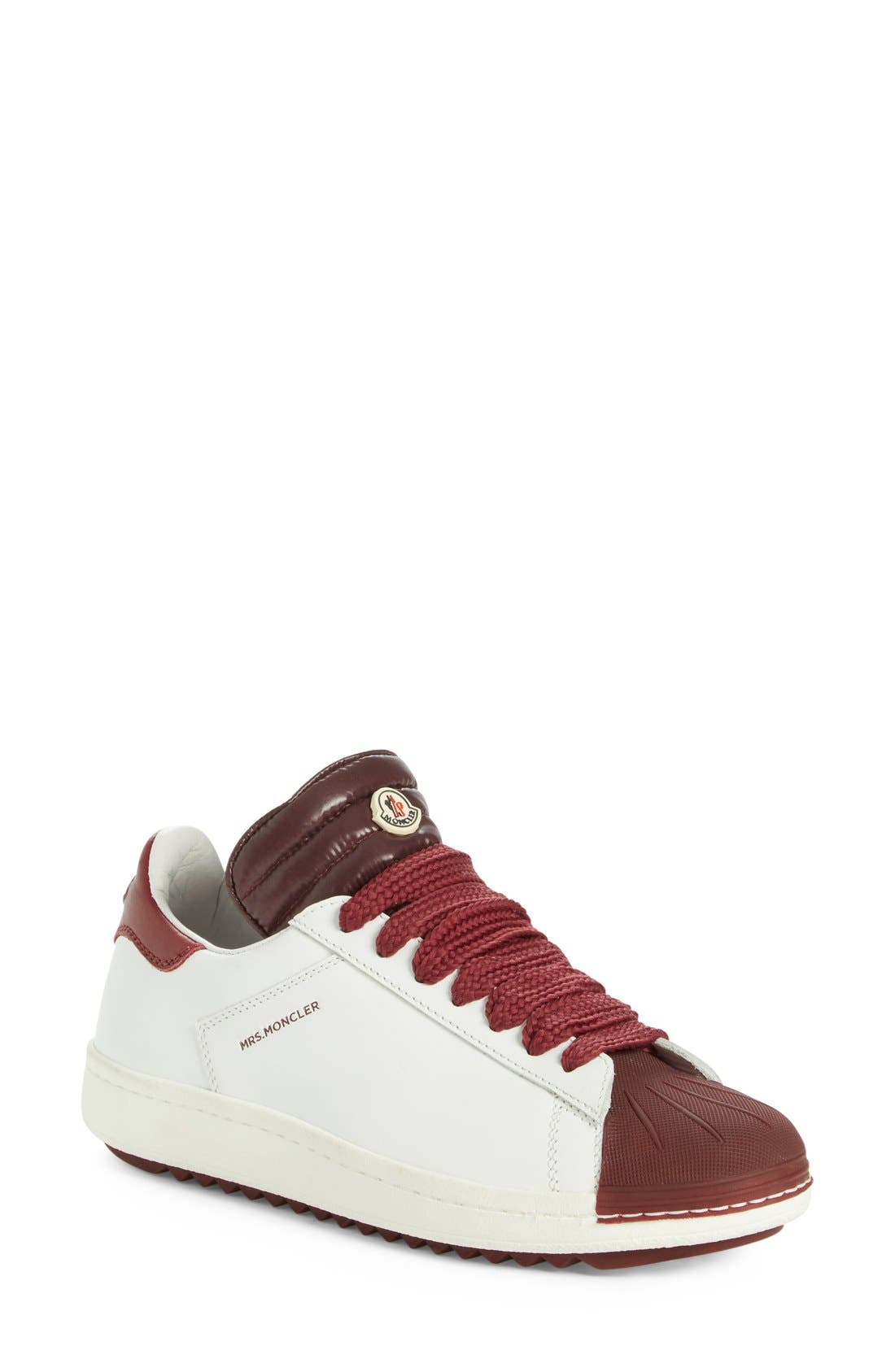 'Angeline Scarpa' Sneaker,                         Main,                         color, Burgundy