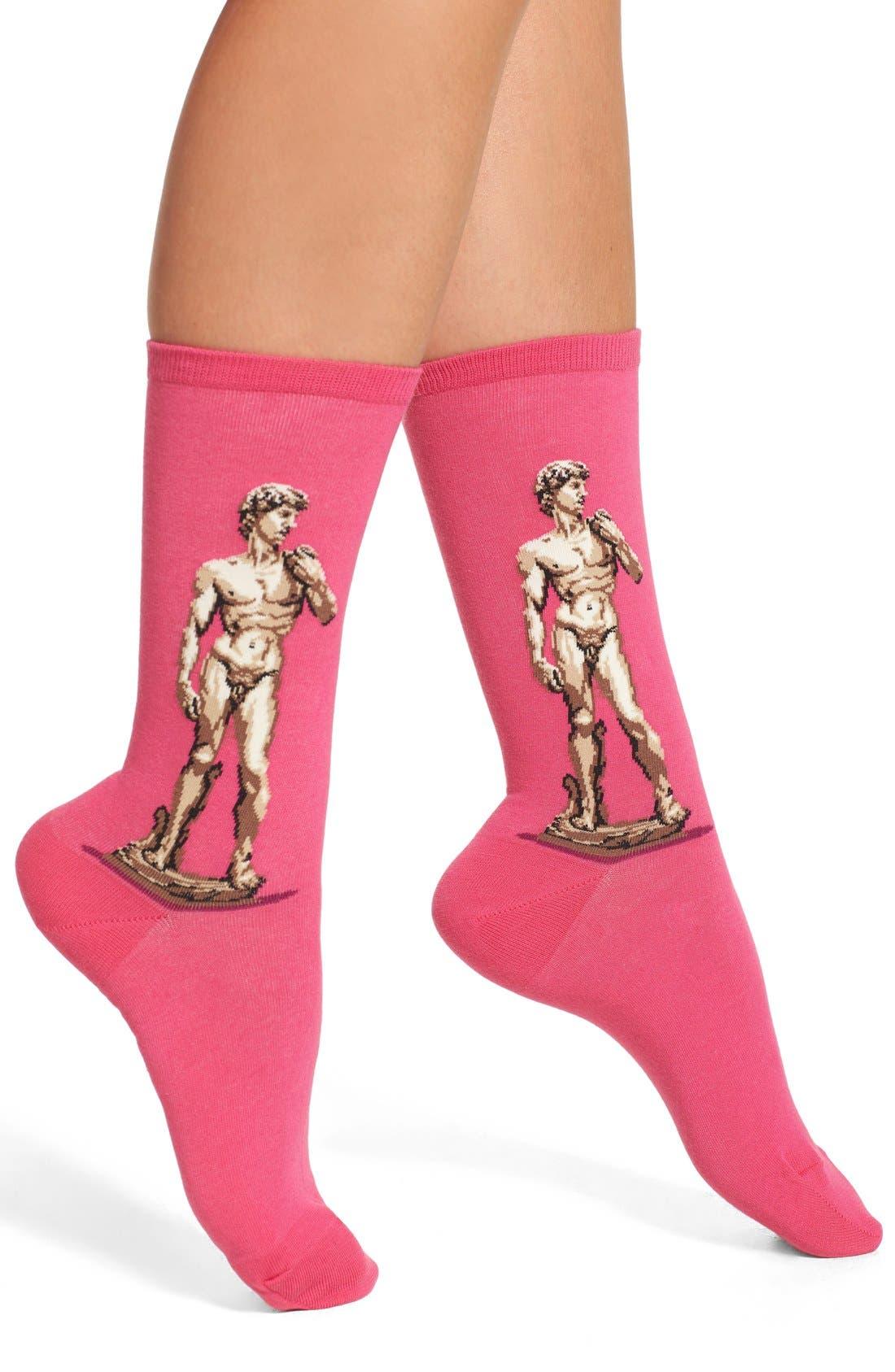 Hot Sox 'David' Crew Socks