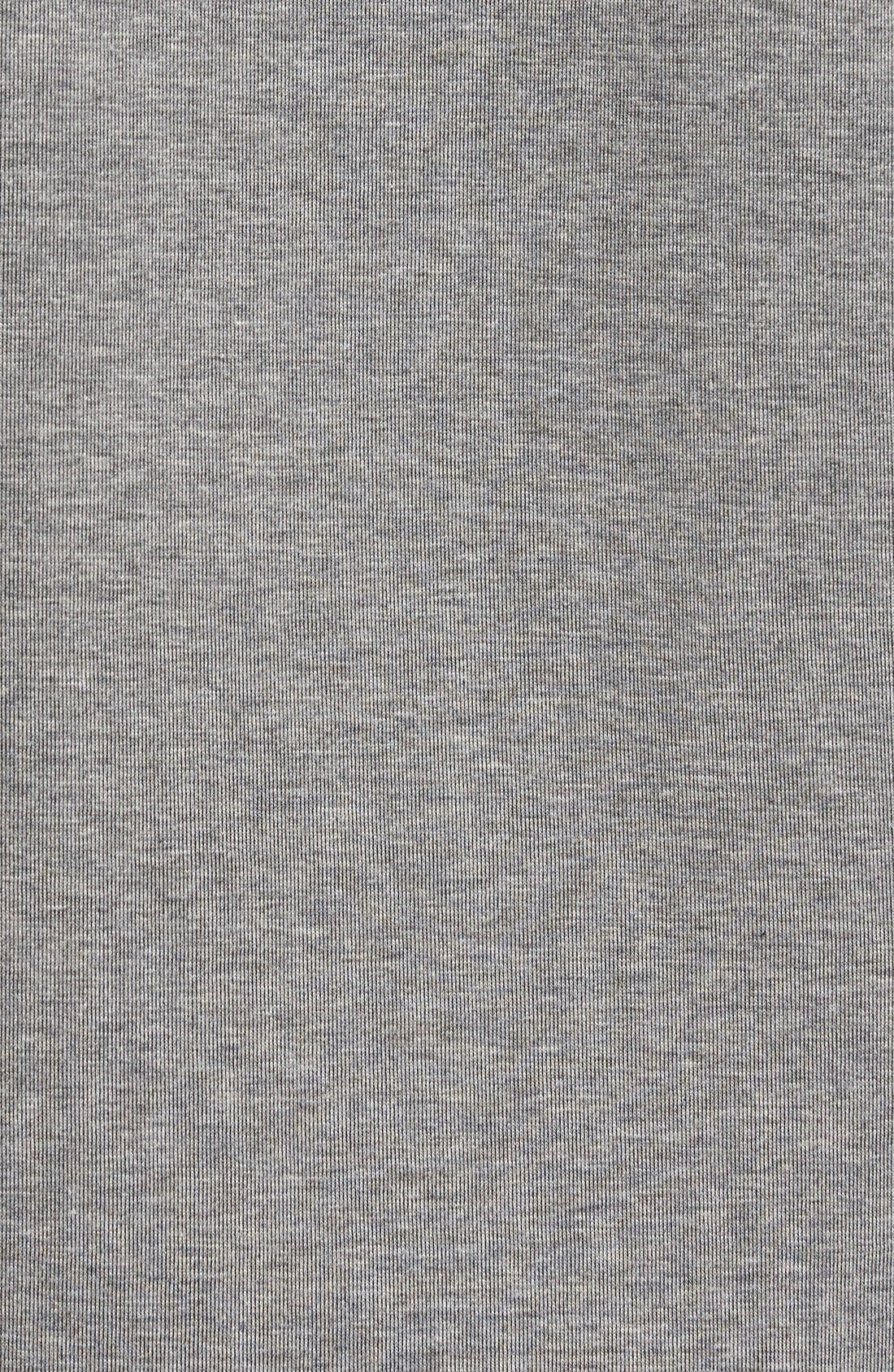 'Windrunner' Tech Fleece Hoodie,                             Alternate thumbnail 5, color,                             Carbon Heather/ Black