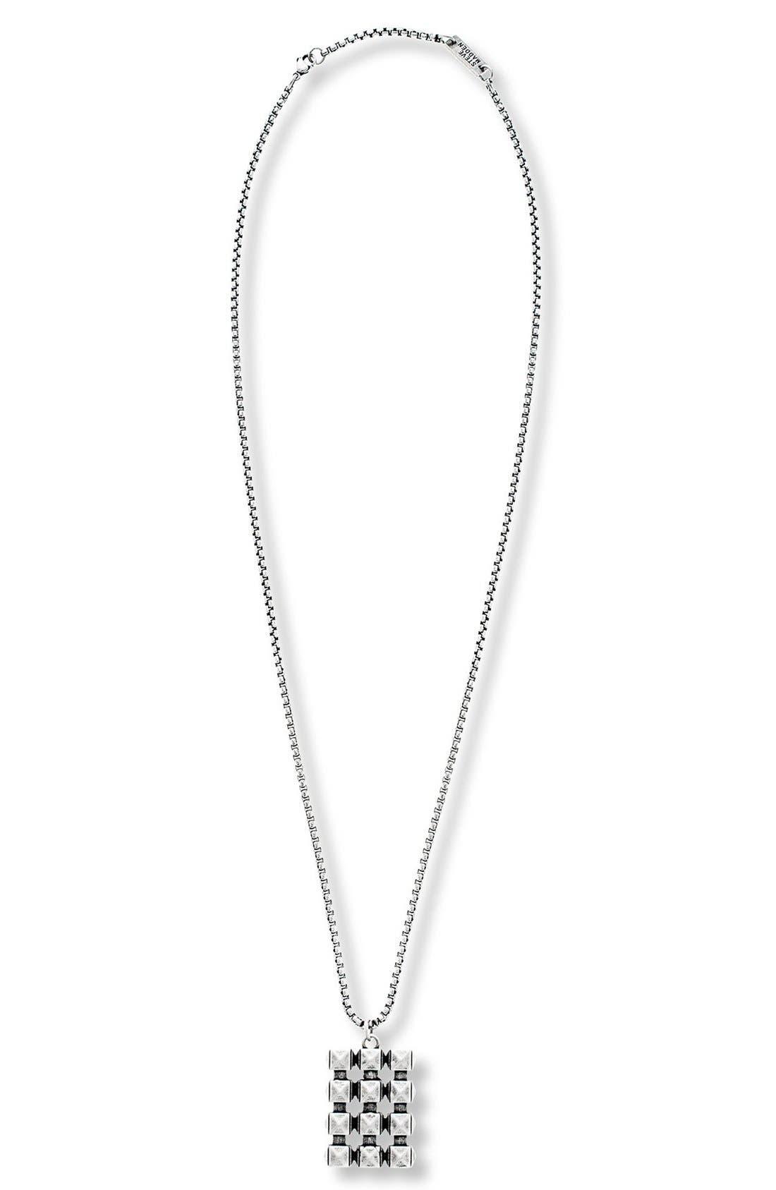 Steve Madden Studded Pendant Necklace