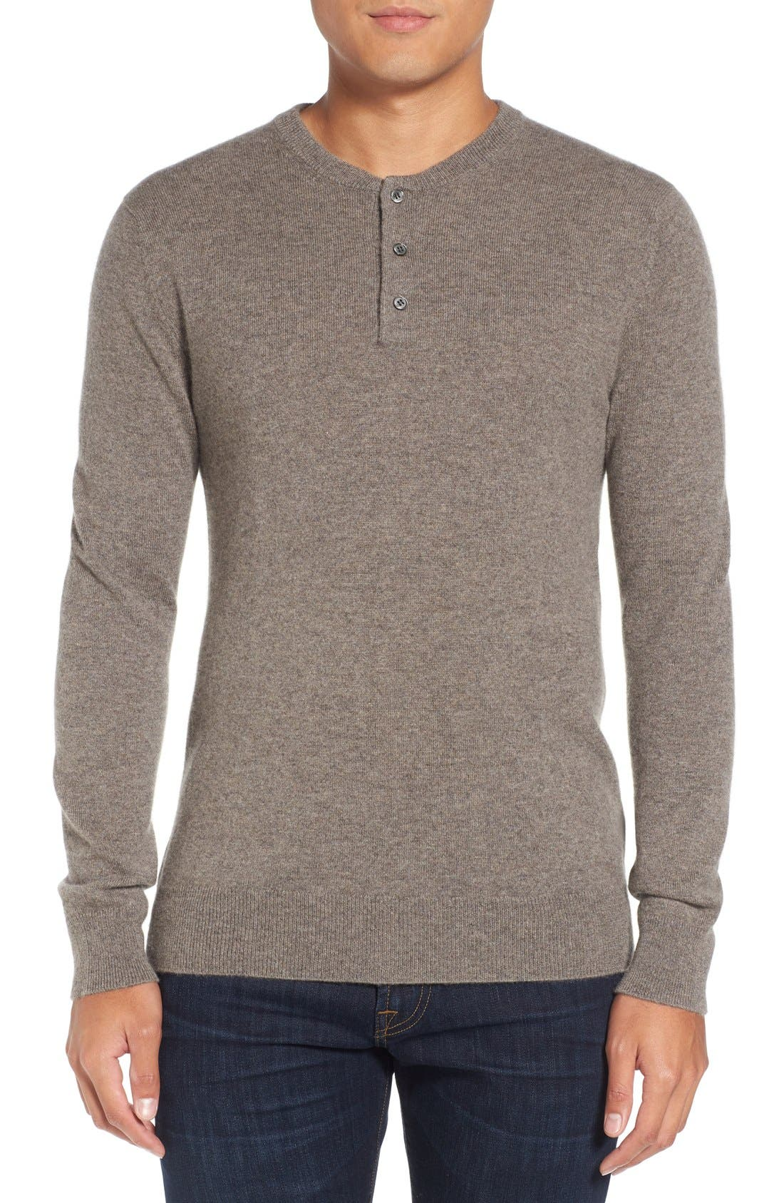 Bonobos Cashmere Henley Sweater