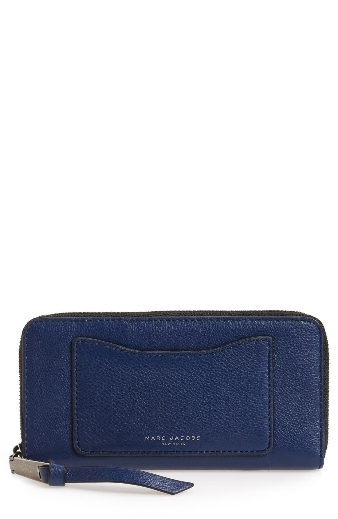 Alternate Image 1 Selected - MARC JACOBS 'Recruit Vertical' Leather Wallet