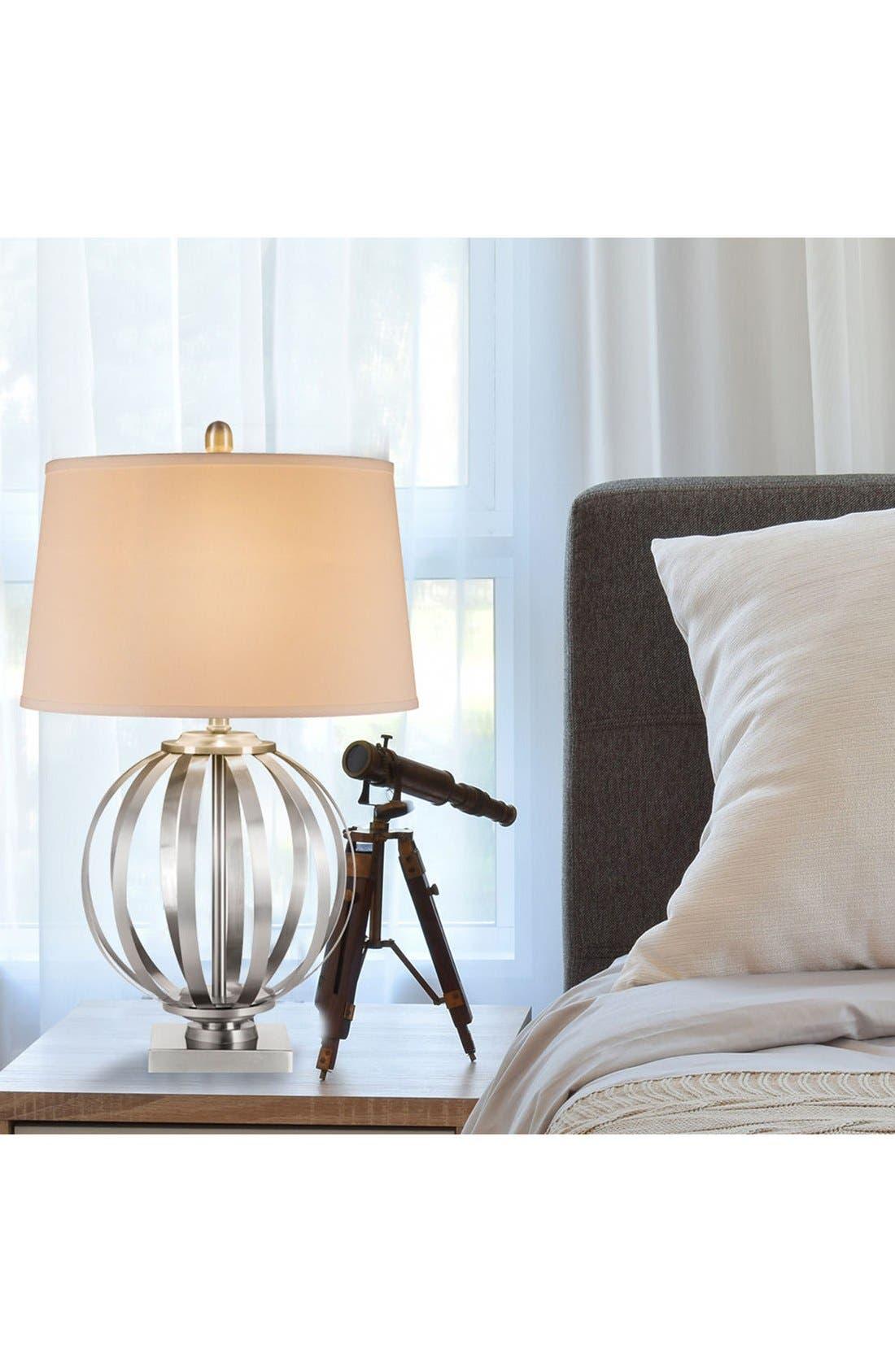 Alternate Image 2  - JAlexander Metal Orb Table Lamp