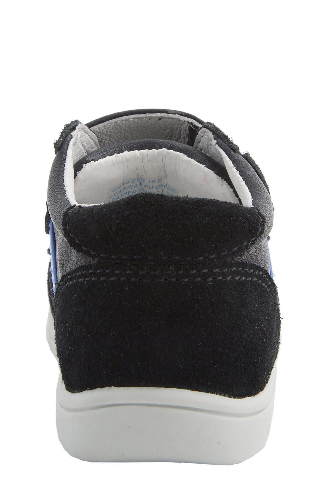 Nina 'Everest' Sneaker,                             Alternate thumbnail 5, color,                             Black Burnished