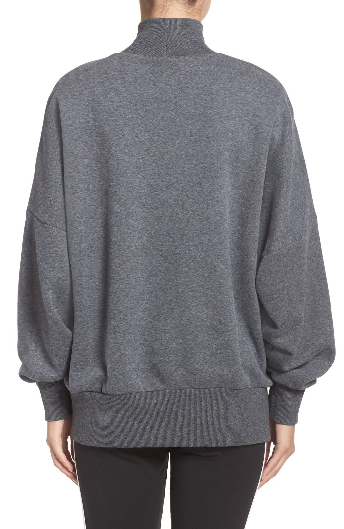 Alternate Image 2  - adidas Originals Mock Neck Sweatshirt