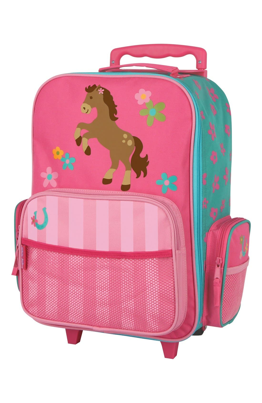 Rolling Suitcase,                         Main,                         color, Girl Horse