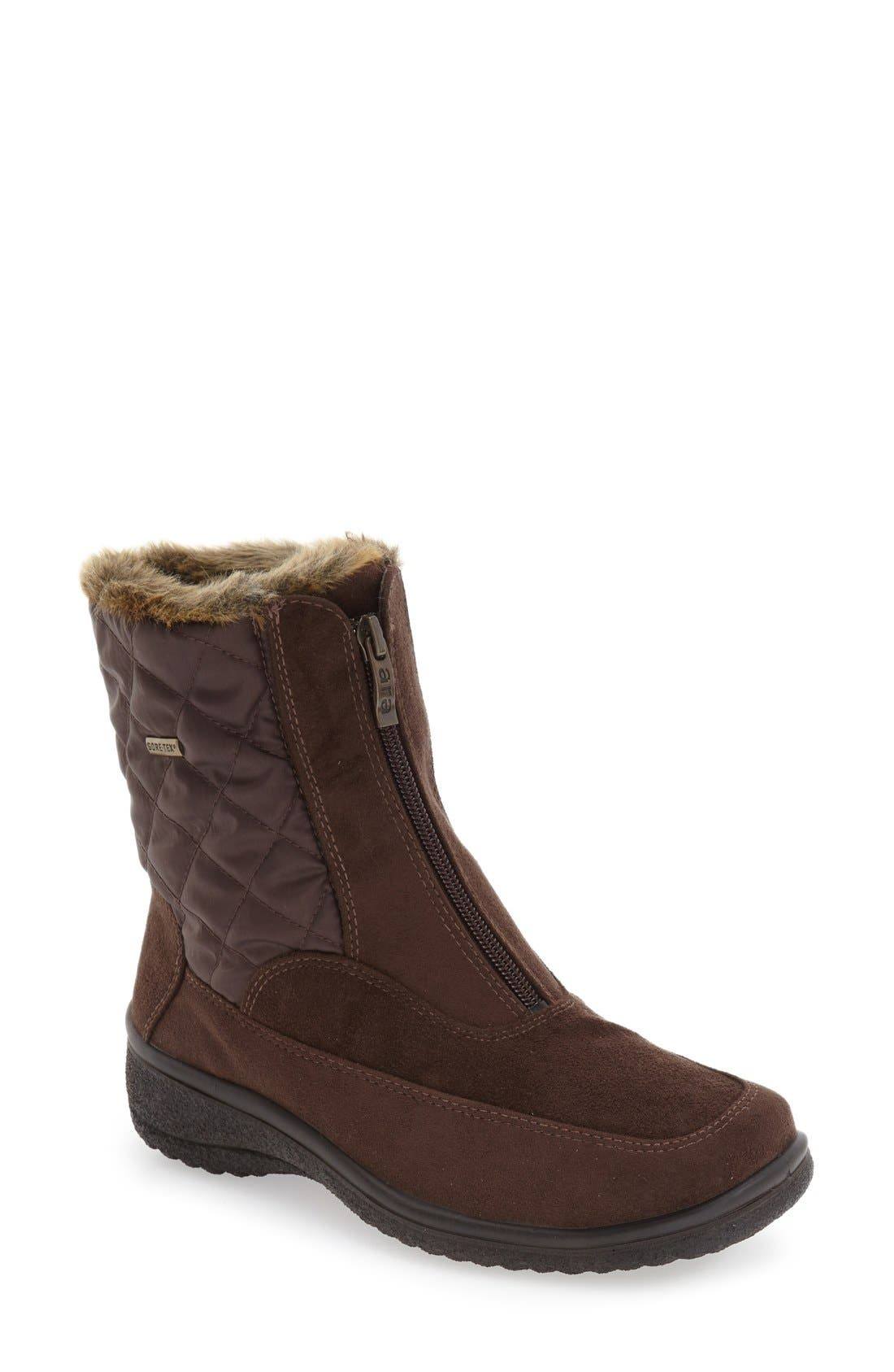 Alternate Image 1 Selected - ara 'Maeko' Waterproof Gore-Tex® Bootie (Women)