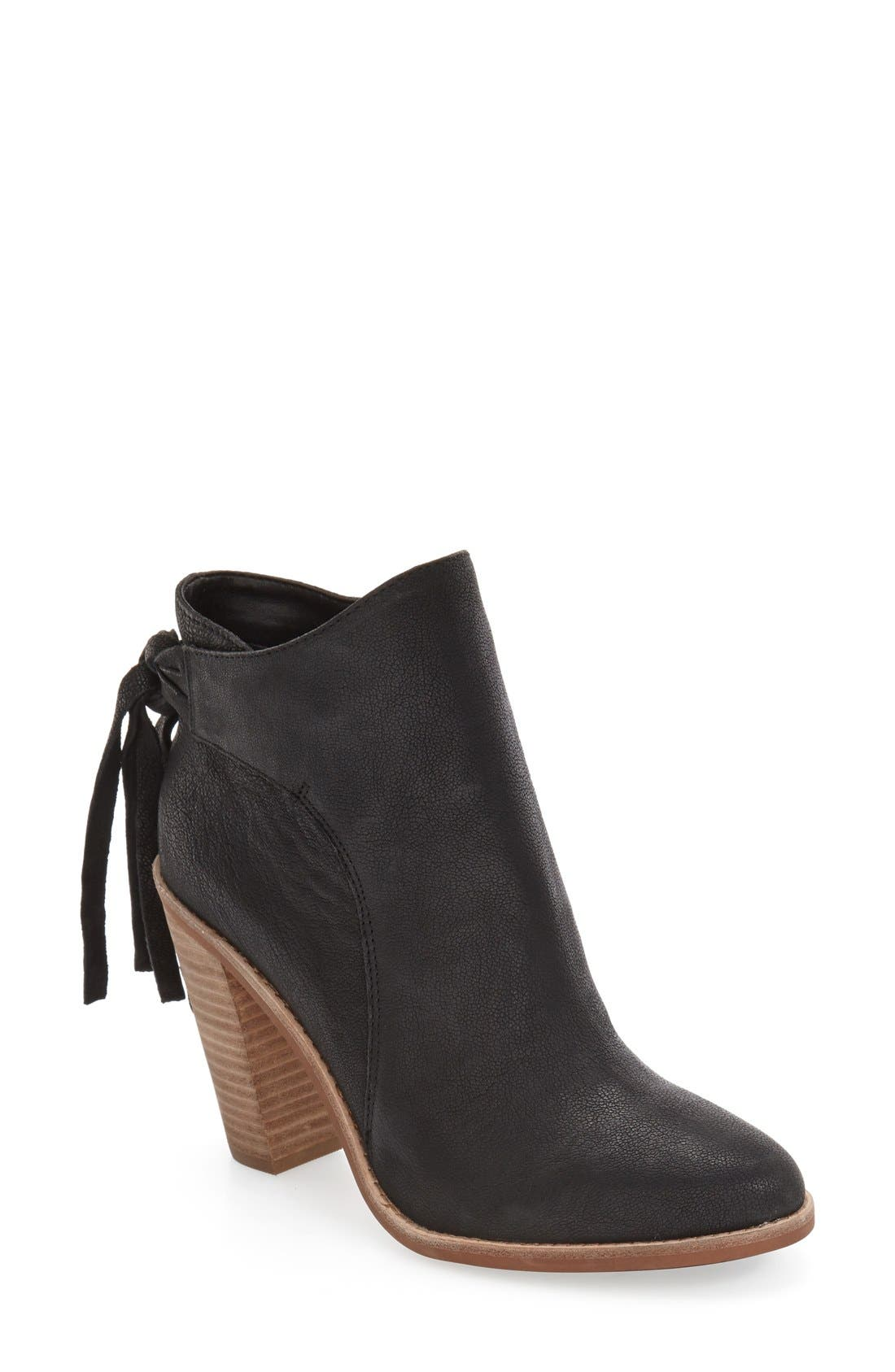 Vince Camuto Linford Ankle Bootie - WOMEN - BROWN SUEDE 0