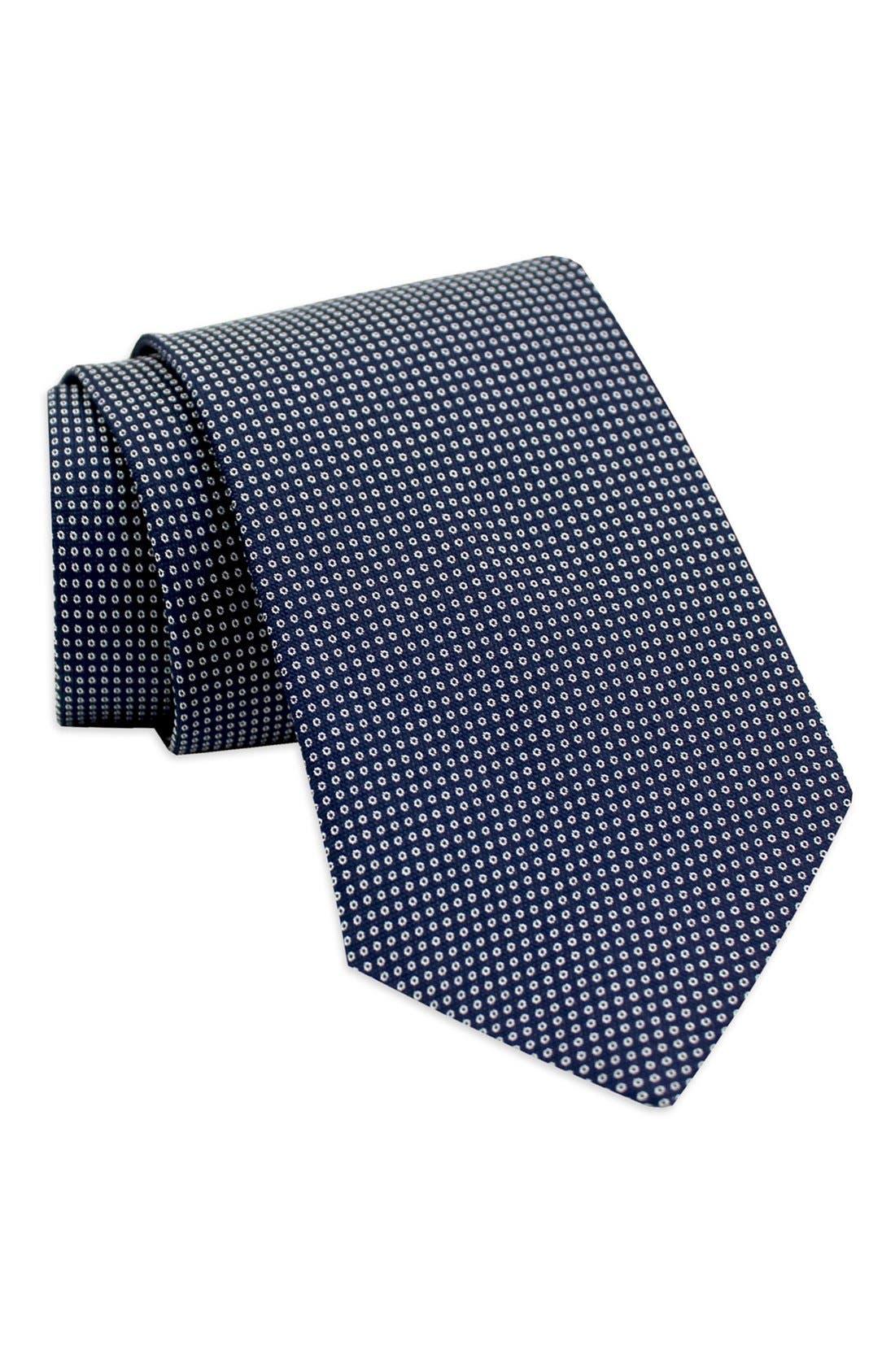 Main Image - Gitman Dot Silk Tie