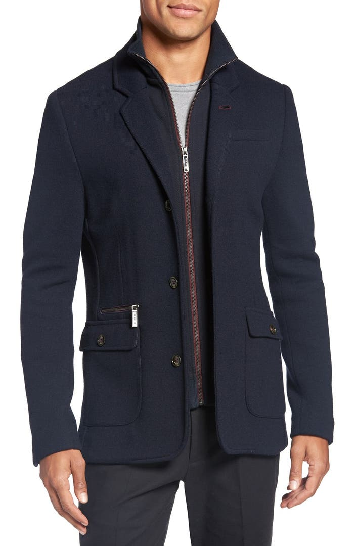 Ted Baker London сумка : Ted baker london dom extra trim fit jersey blazer with