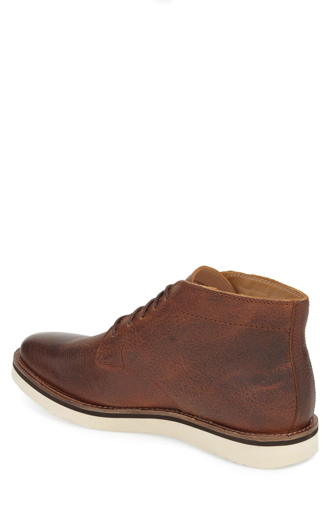 'Farley' Chukka Boot,                             Alternate thumbnail 2, color,                             Caramel Leather
