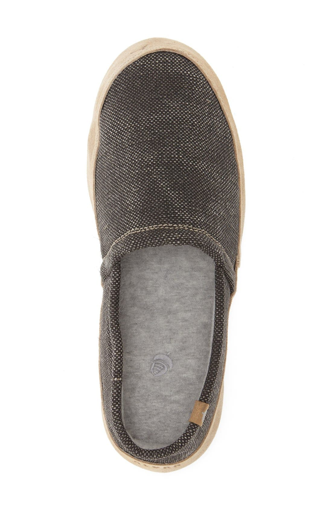 Alternate Image 3  - Acorn Moc Slipper (Men)