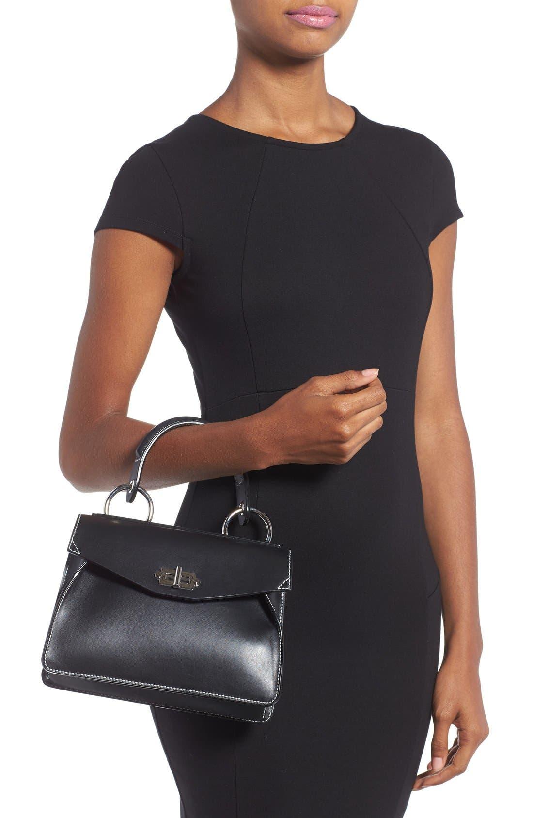 Alternate Image 2  - Proenza Schouler 'Small Hava' Top Handle Calfskin Leather Satchel