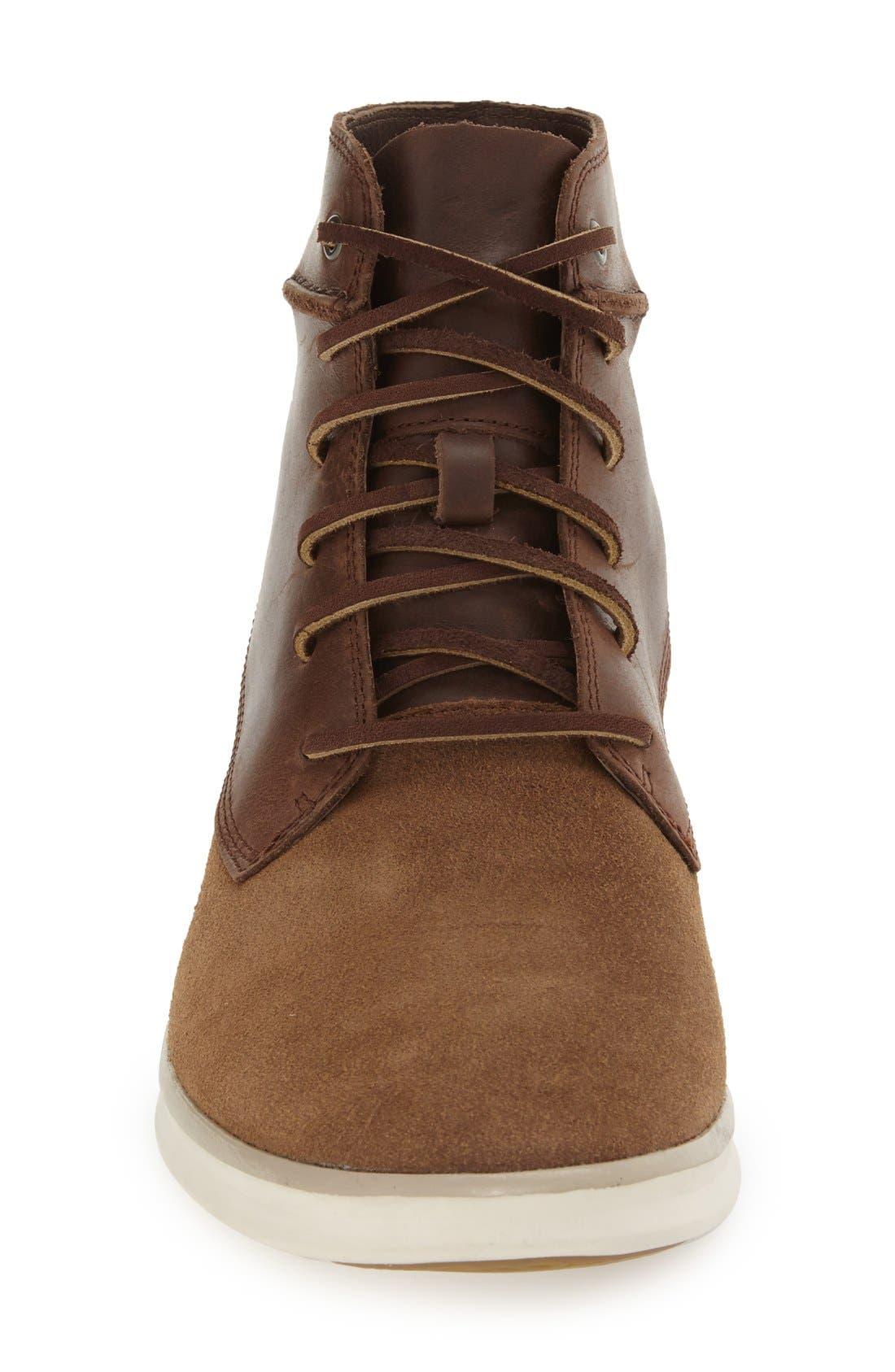 Alternate Image 3  - UGG® 'Lamont' High Top Sneaker (Men)