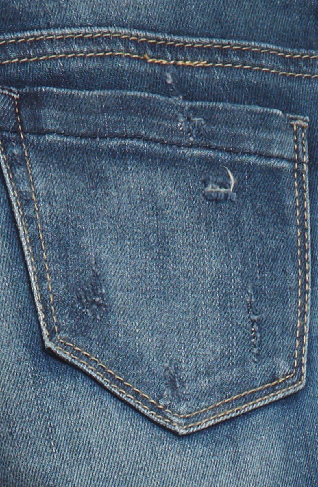 Alternate Image 3  - BLANKNYC Destroyed Boyfriend Jeans (Big Girls)