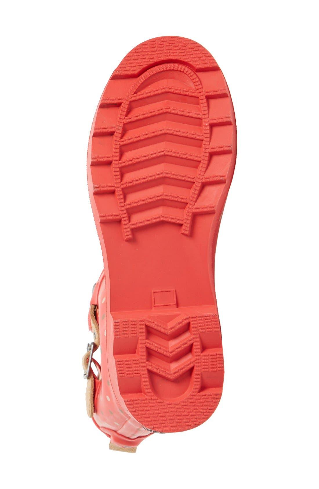 Alternate Image 4  - Chooka 'Classic Dot' Mid High Rain Boot (Women)
