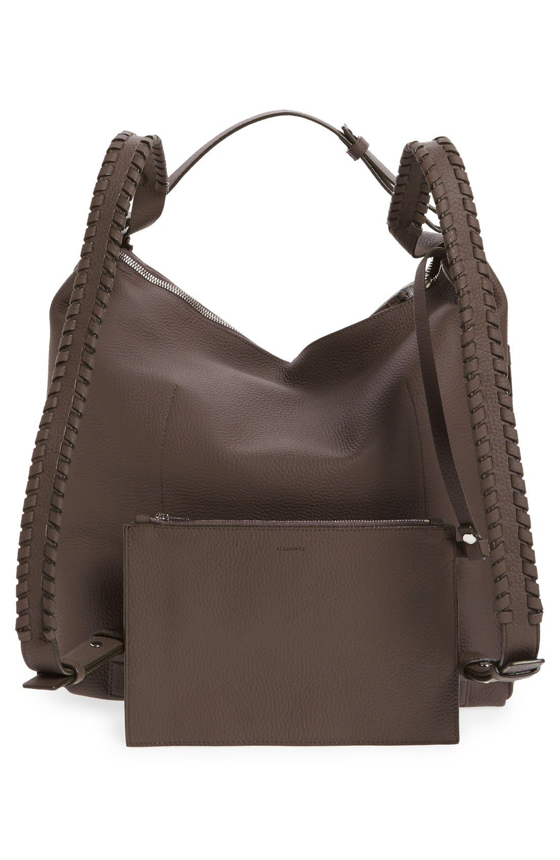 Alternate Image 3  - ALLSAINTS Kita Convertible Leather Backpack