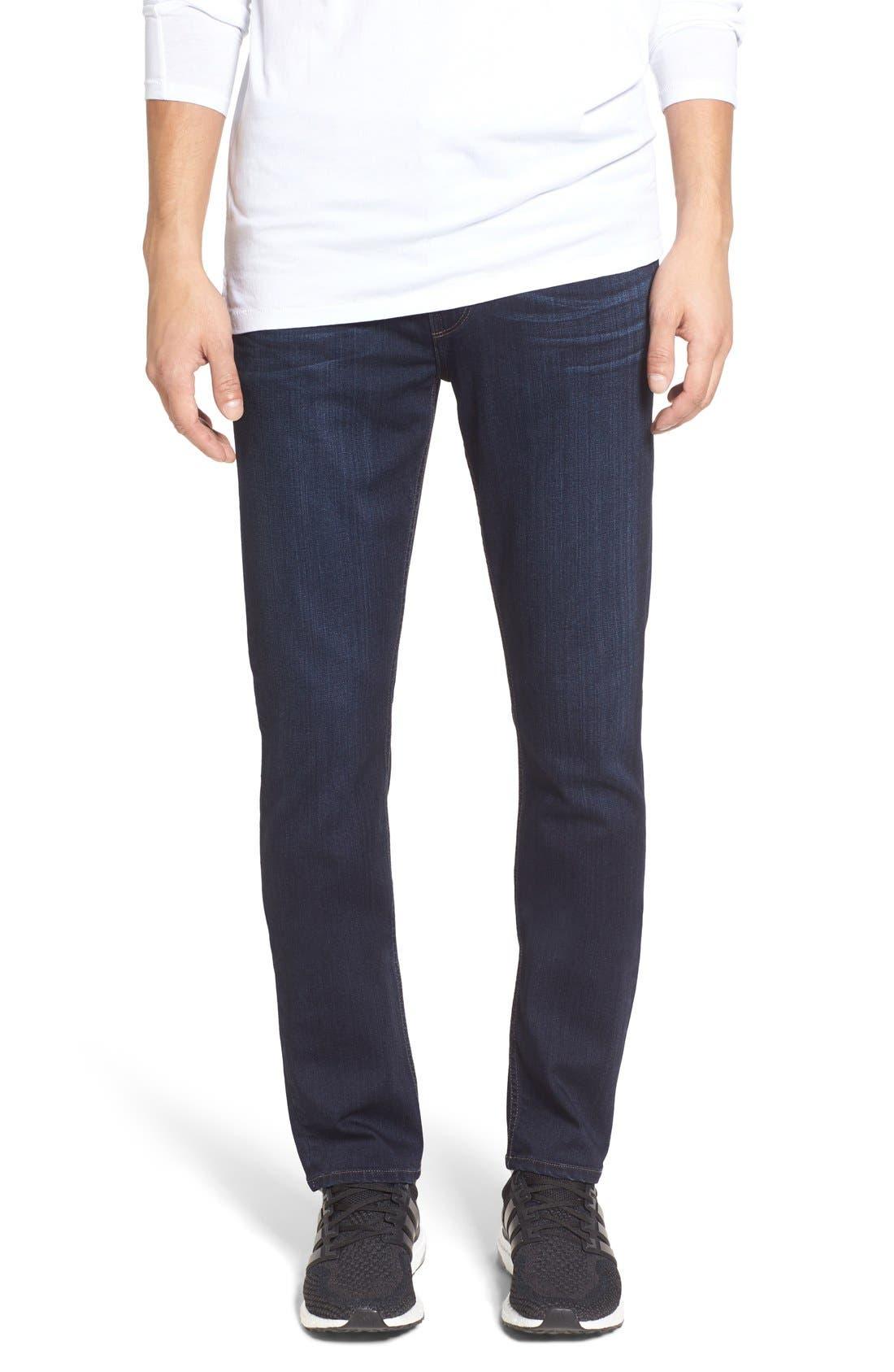 PAIGE Transcend – Lennox Slim Fit Jeans (Russ Blue)