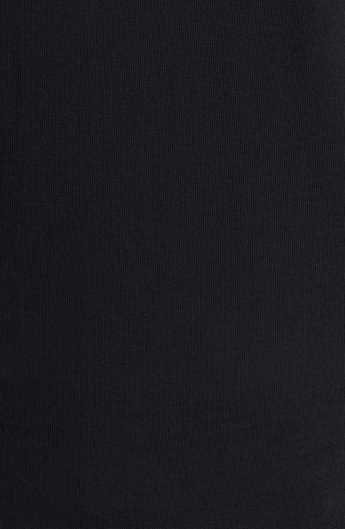 Alternate Image 3  - Burberry Check Trim Wool Cardigan