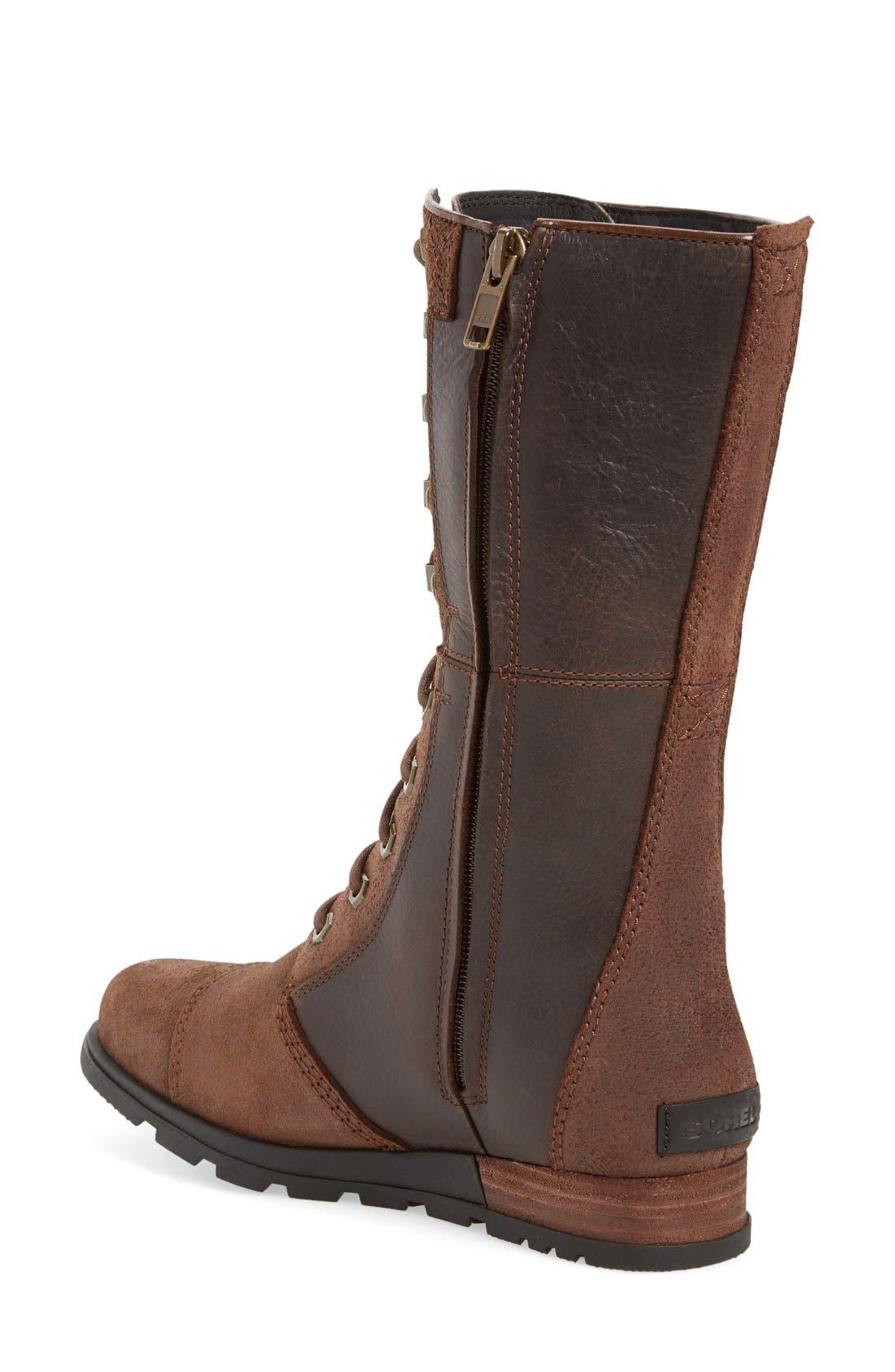 Alternate Image 2  - SOREL 'Major Maverick' Mid Calf Zip Boot (Women)
