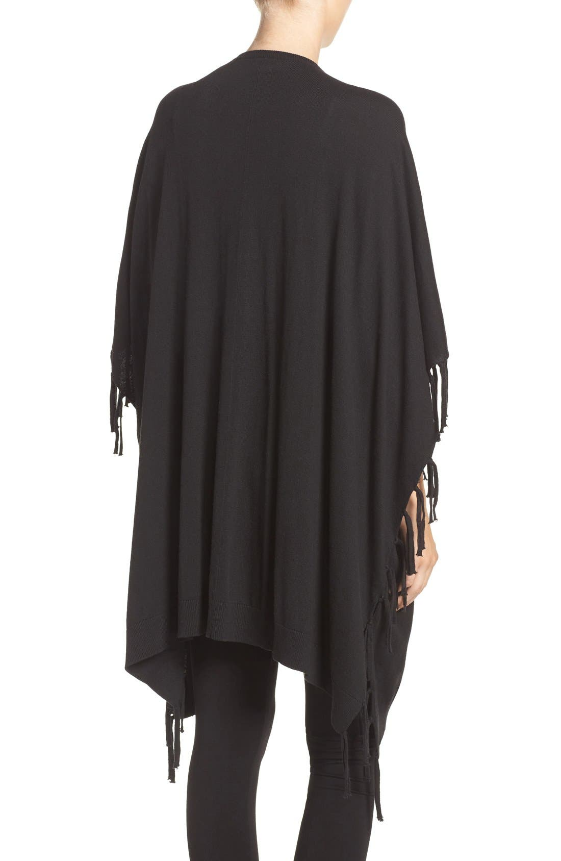 Alternate Image 2  - DKNY Fringe Sweater Wrap