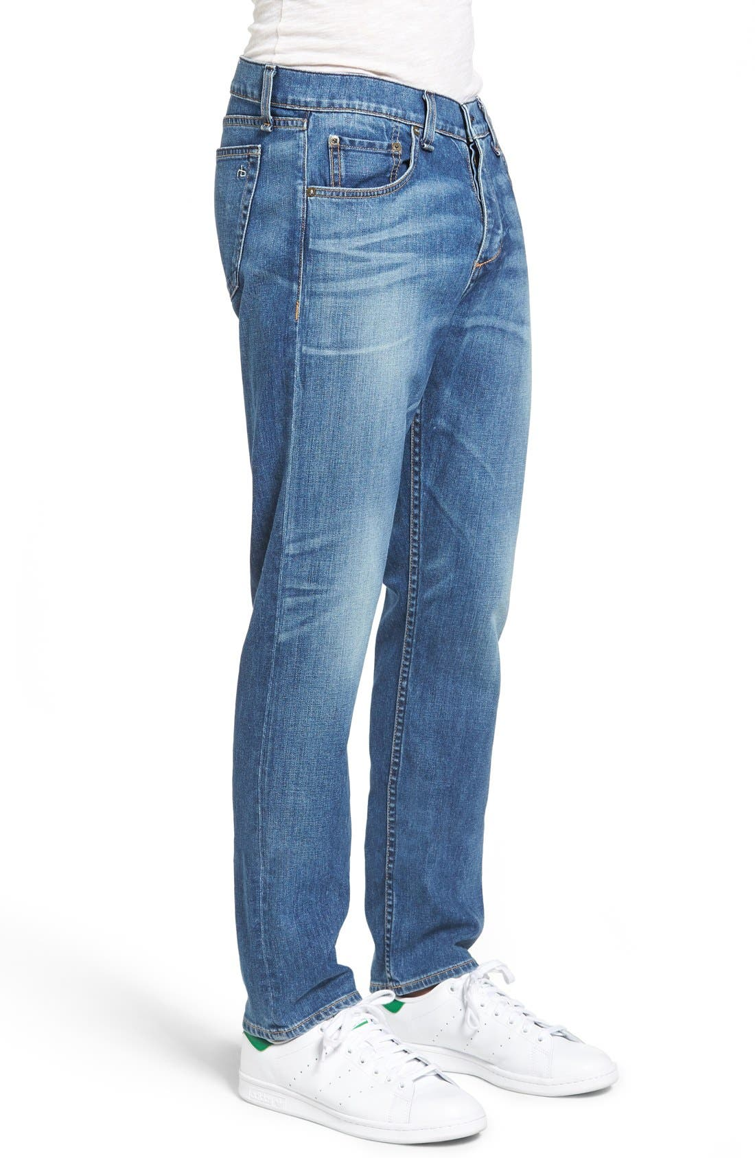 Alternate Image 3  - rag & bone Standard Issue Fit 3 Slim Straight Leg Jeans (Bainbridge)