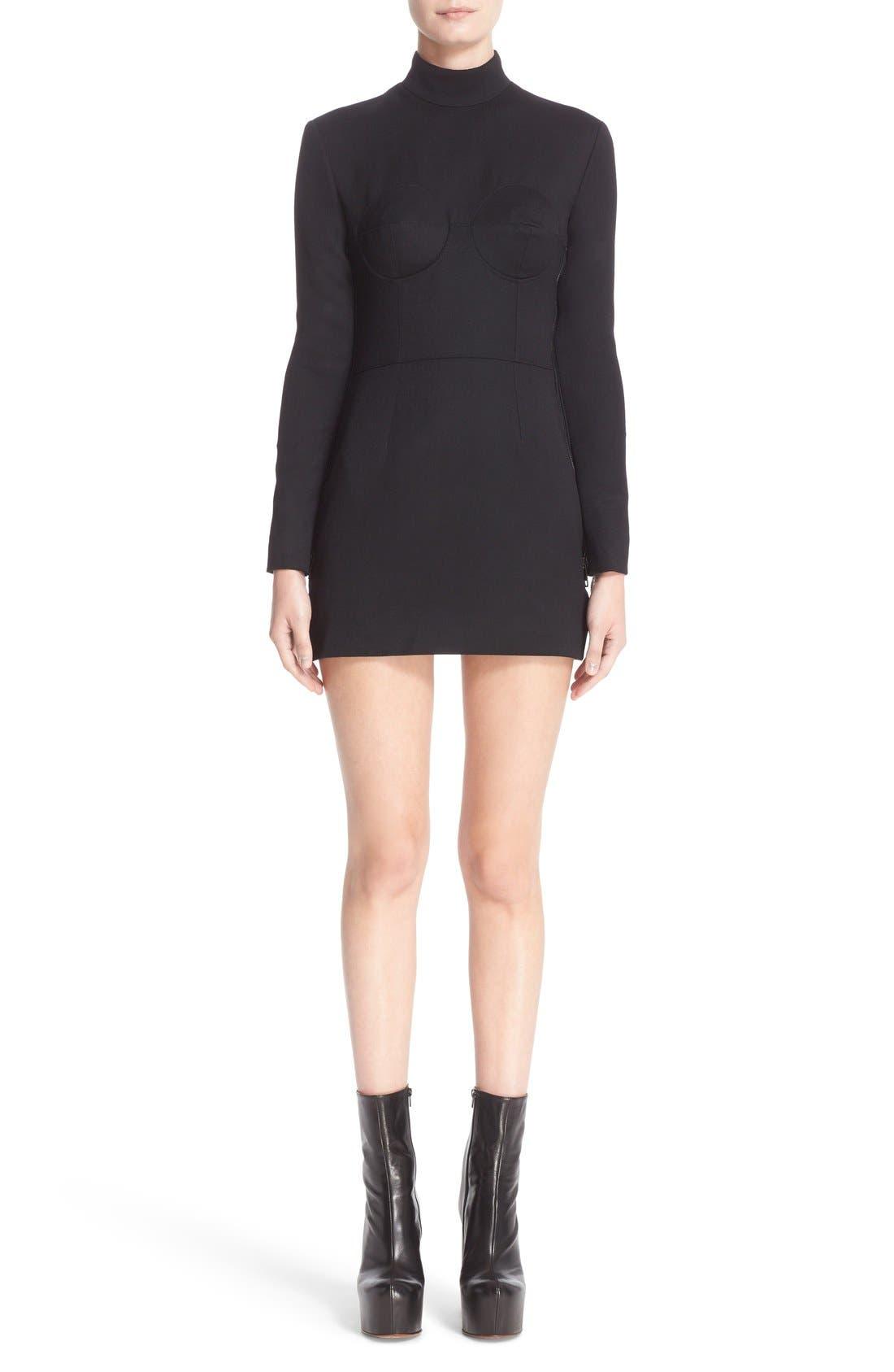 Alternate Image 1 Selected - Vetements 'Sado' Wool Minidress