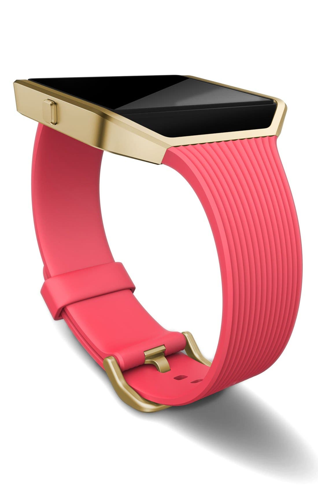 'Blaze' Slim Accessory Band & Frame,                             Alternate thumbnail 3, color,                             Pink