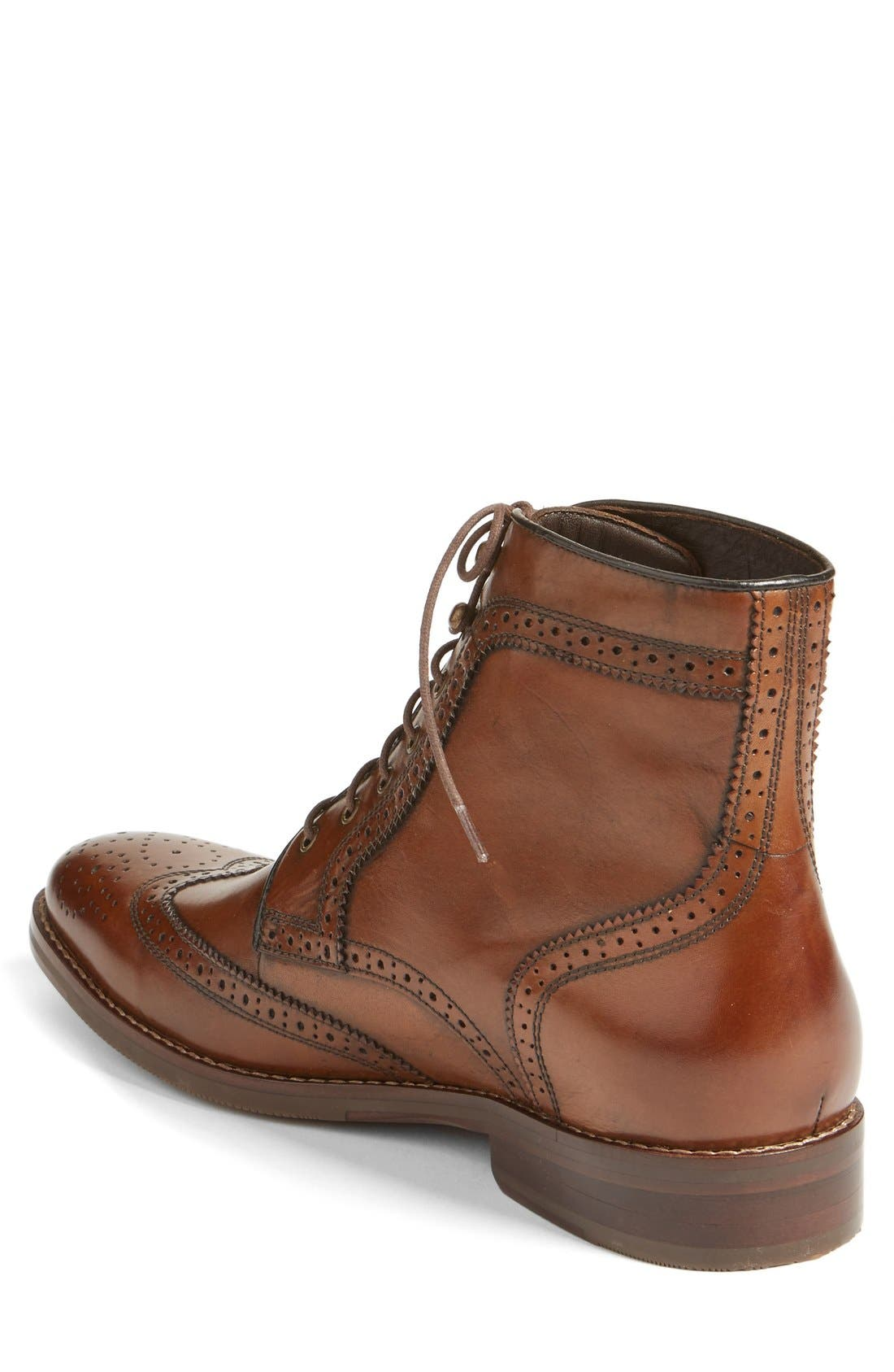 Alternate Image 2  - J&M 1850 Meritt Wingtip Boot (Men) (Nordstrom Exclusive)