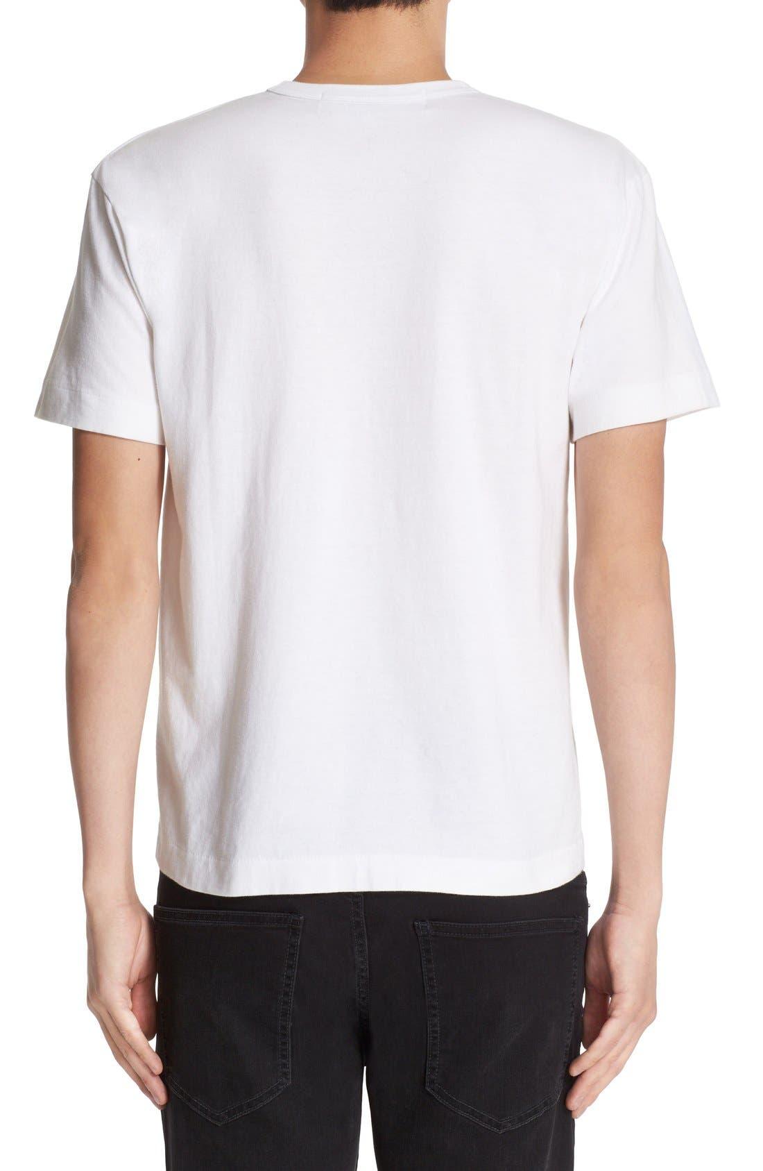 Alternate Image 2  - Comme des Garçons PLAY Logo Graphic T-Shirt